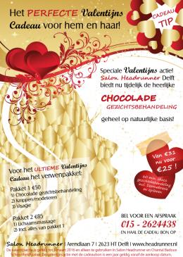 Schoonheidssalon CB Valentijnsactie