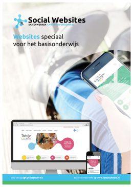 Social Schools Website Flyer (voorkant)