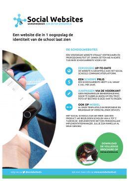 Social Schools Website Flyer (achterkant)